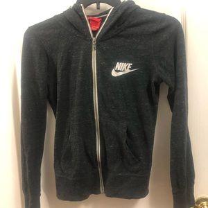 Gray charcoal Nike Capri Jogger Set